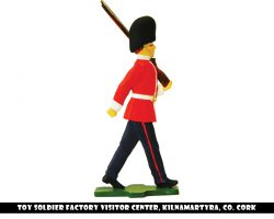 Flat soldier marching