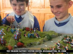 Checking out our Toy Soldiers