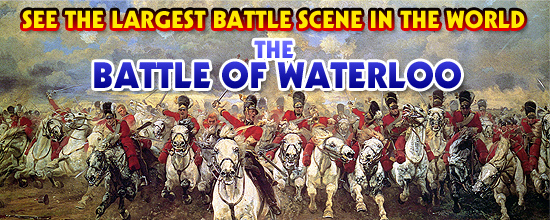 The Battle of Waterloo Exhibit