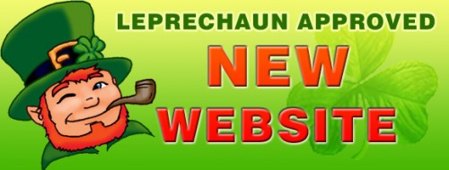 Leprechaun Approved new website.