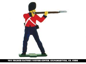 Flat soldier firing