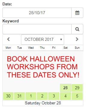 October 28th to November 5th 2017