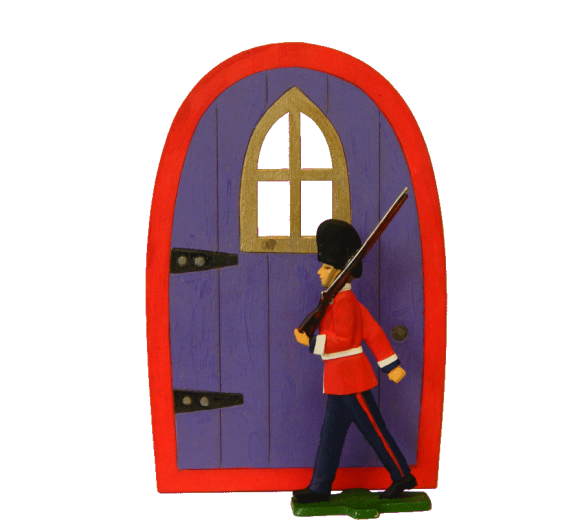 Soldier with Door