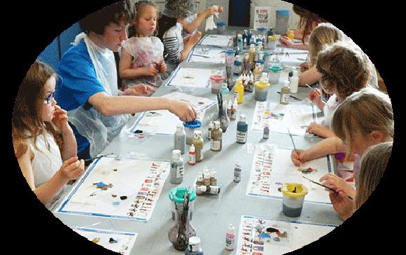 Kids Group Painting Workshops